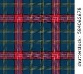 tartan seamless pattern...   Shutterstock .eps vector #584062678