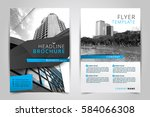 cover design annual report...   Shutterstock .eps vector #584066308