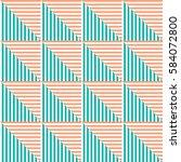 seamless vector abstract... | Shutterstock .eps vector #584072800