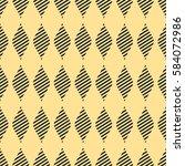 seamless vector abstract... | Shutterstock .eps vector #584072986