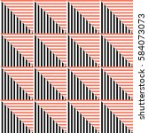 seamless vector abstract... | Shutterstock .eps vector #584073073