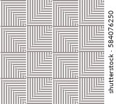 seamless vector abstract... | Shutterstock .eps vector #584076250