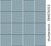 seamless vector abstract... | Shutterstock .eps vector #584076313