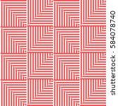seamless vector abstract... | Shutterstock .eps vector #584078740