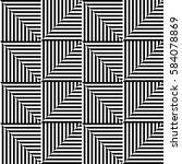 seamless vector abstract... | Shutterstock .eps vector #584078869