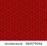 modern geometric seamless... | Shutterstock . vector #584079046