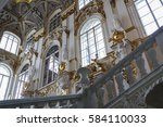 state hermitage museum  st.... | Shutterstock . vector #584110033