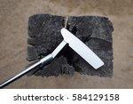 golf putter   Shutterstock . vector #584129158