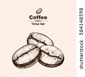 Vector Background With Coffee ...
