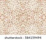 straw pattern texture repeating ... | Shutterstock .eps vector #584159494