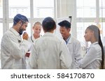 doctors in medical training... | Shutterstock . vector #584170870