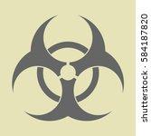 vector illustration of bio... | Shutterstock .eps vector #584187820