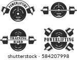 vector illustration  icons for... | Shutterstock .eps vector #584207998