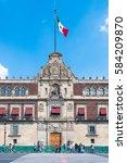 mexico city  mexico   october... | Shutterstock . vector #584209870