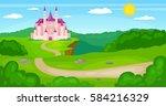 vector illustration of... | Shutterstock .eps vector #584216329
