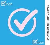 check list button icon. check...