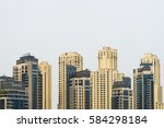 dubai  uae   february 13  2017  ... | Shutterstock . vector #584298184
