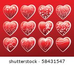 heart set | Shutterstock . vector #58431547