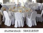banquet hall chairs | Shutterstock . vector #584318509