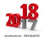 2017 2018 change represents the ... | Shutterstock . vector #584366050