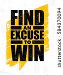sport creative vector... | Shutterstock .eps vector #584370094