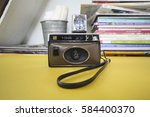 Small photo of CHIANGMAI, THAILAND - 09, 2010: Here's a cool camera that was made c1969 and sold by GAF, a company with a long history that includes ties to Agfa/Ansco. model 136 XF
