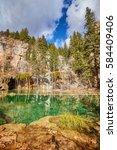 Hanging Lake In Glenwood Canyon ...