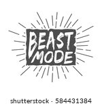 vintage boxing slogan with...   Shutterstock . vector #584431384
