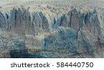 Calafate Blue Glacier Close Up