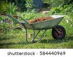 Garden Wheelbarrow Filled With...
