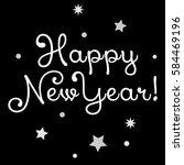 happy new year sing    Shutterstock .eps vector #584469196