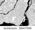 black and white scheme of the ... | Shutterstock .eps vector #584477098
