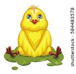vector illustration of a... | Shutterstock .eps vector #584483578
