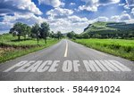 road to peace of mind | Shutterstock . vector #584491024