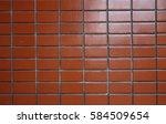 brick wall   background   Shutterstock . vector #584509654