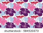 pattern on a white background... | Shutterstock . vector #584520373