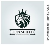 Lion Shield Logo Design...