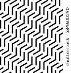 vector seamless pattern. modern ... | Shutterstock .eps vector #584600290