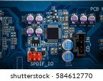 integrated semiconductor... | Shutterstock . vector #584612770