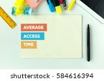 Small photo of AVERAGE ACCESS TIME CONCEPT