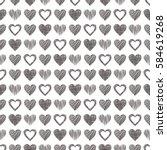 Seamless Raster Love Pattern...
