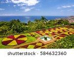 Madeira island, Portugal, Botanical Garden Monte, Funchal