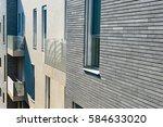 the design of modern apartment... | Shutterstock . vector #584633020