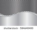 metallic background and metal...   Shutterstock .eps vector #584640400