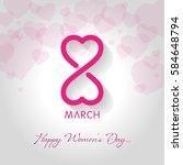 women's day | Shutterstock .eps vector #584648794