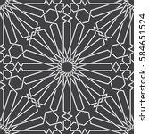 islamic pattern. seamless... | Shutterstock .eps vector #584651524