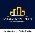 real estate  building ...   Shutterstock .eps vector #584656444