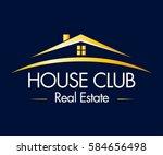real estate  building ...   Shutterstock .eps vector #584656498