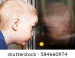 The Baby Near The Window