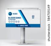 billboard design  multipurpose... | Shutterstock .eps vector #584705149
